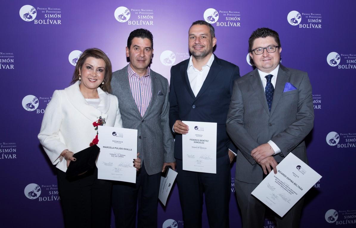 Noticias Caracol, Los Informantes y Blu Radio ganan Premio Simón Bolívar