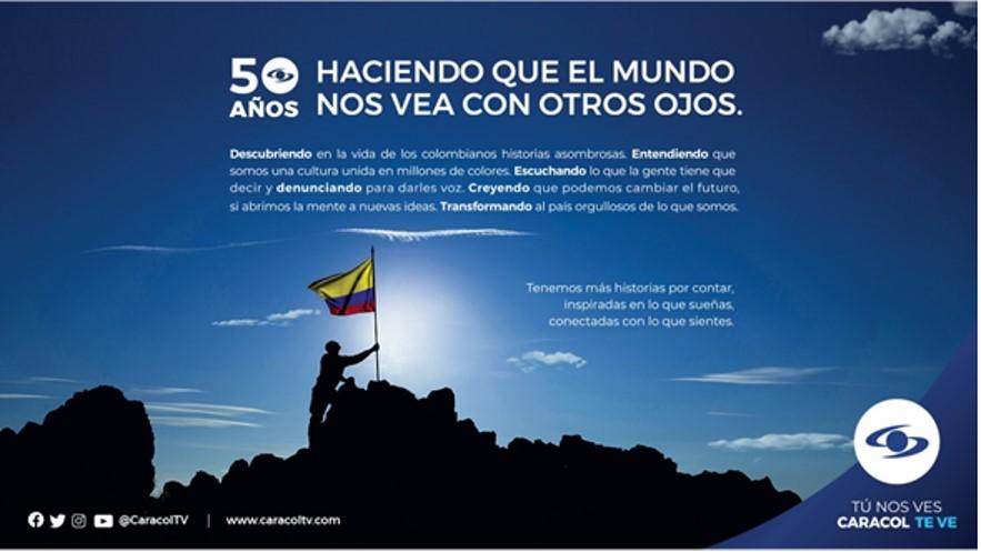 ¡Caracol Televisión celebra sus 50 años!