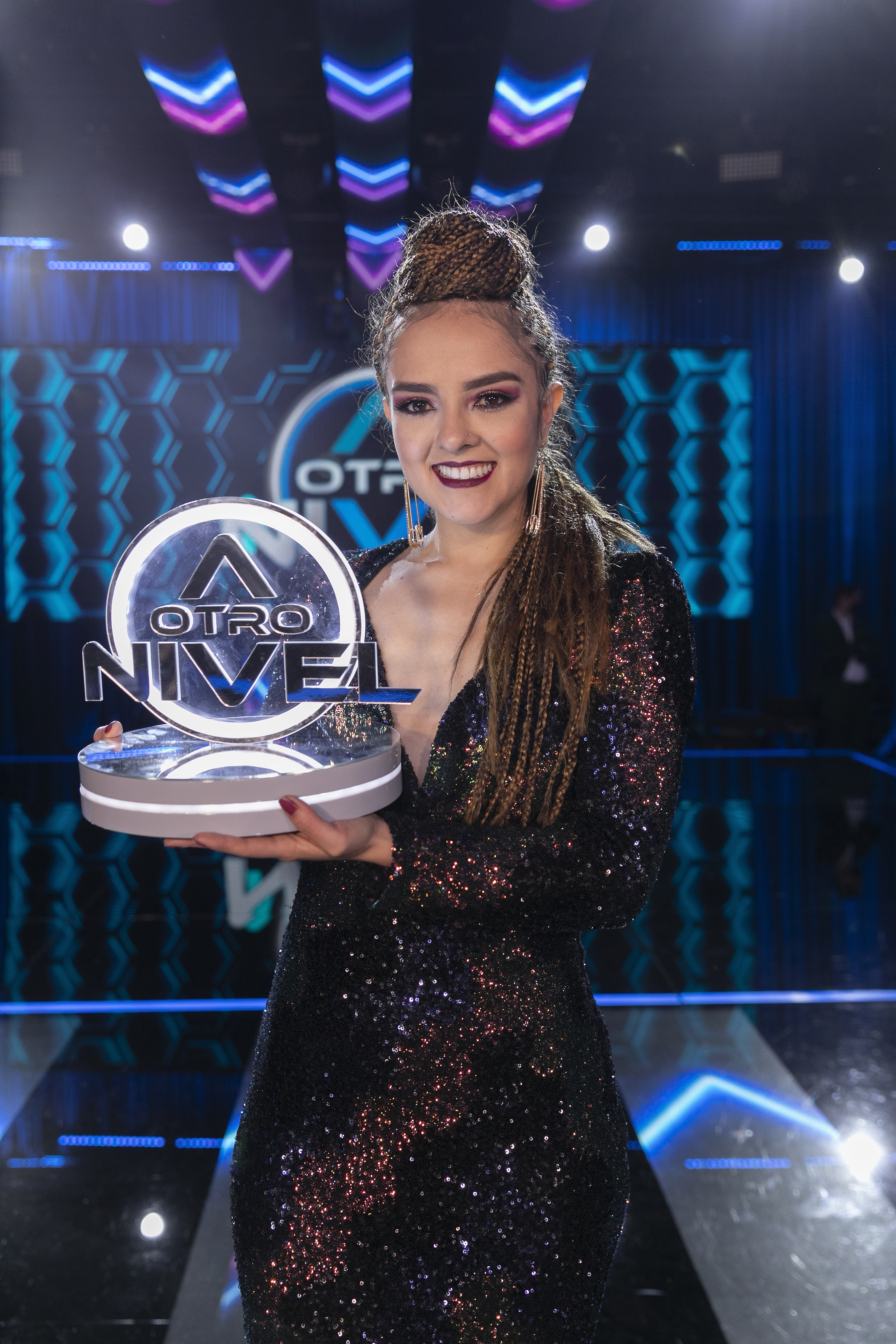 ¡Alexandra Colorado ganó 'A otro nivel' y llego a su nivel más alto!