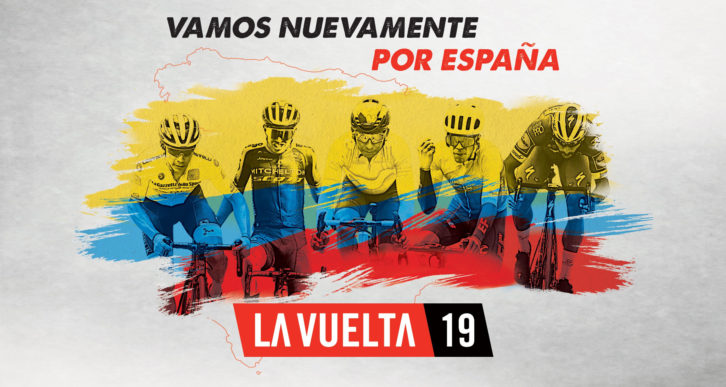 La vuelta a España, por Caracol Televisión