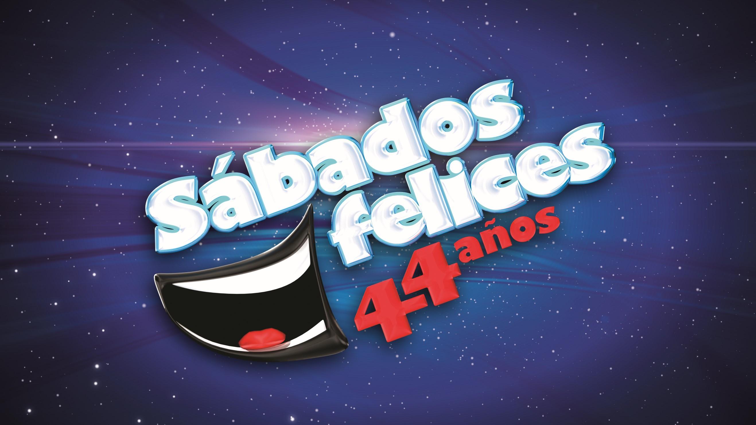 Logo, 44 años, Sábados Felices