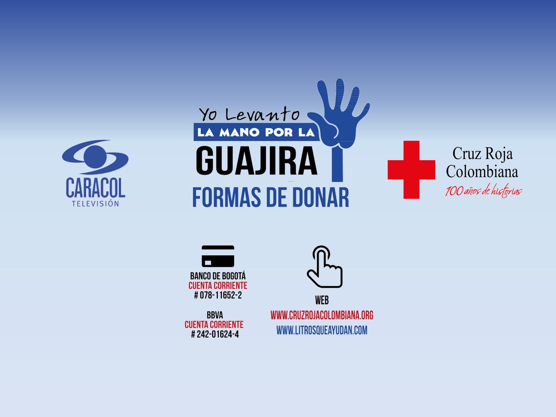 Montaje fotográfico, Cruz Roja, Caracol Televisión