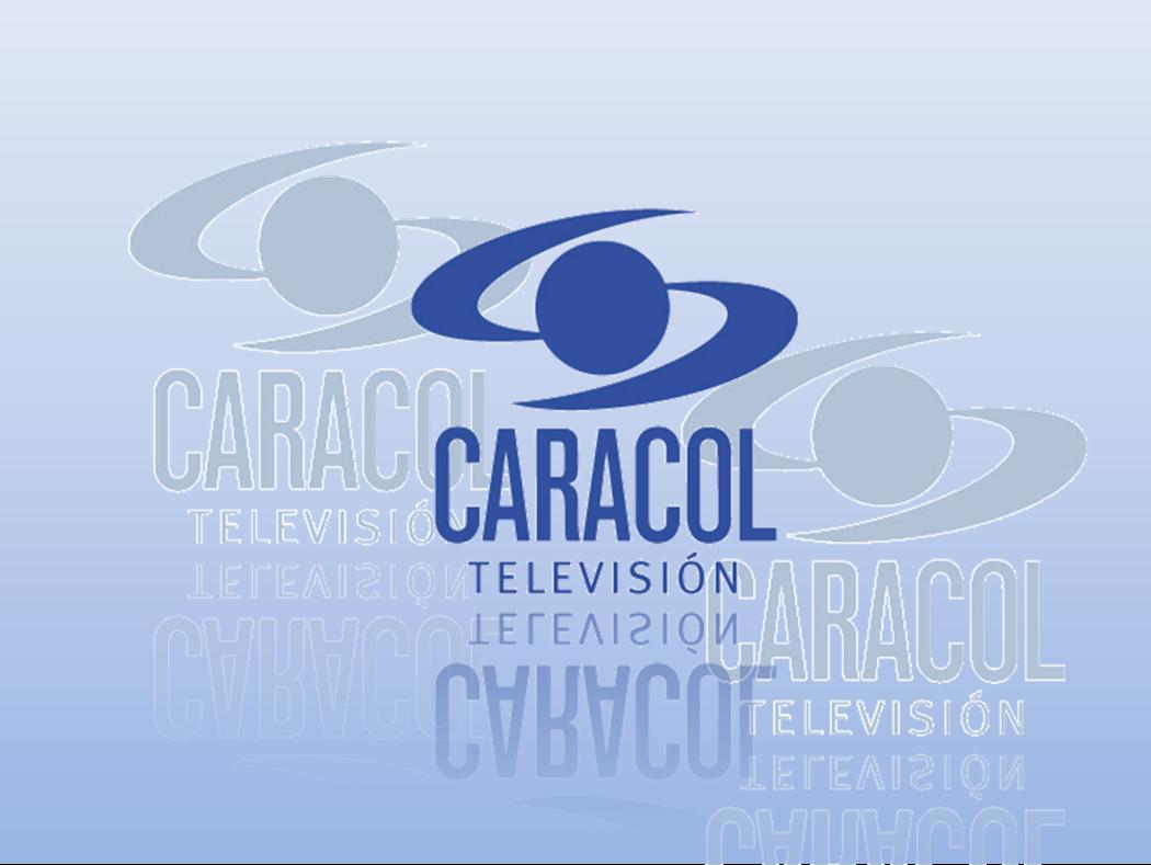 Montaje logo Caracol Televisión