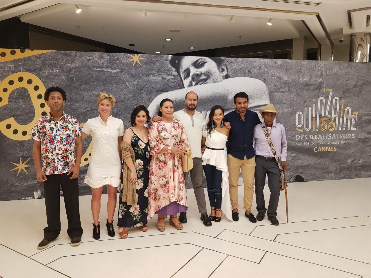 Exitosa presentación de 'Pájaros de Verano' en Cannes