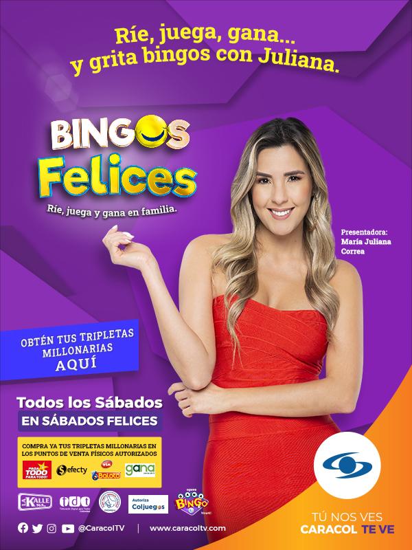 María Juliana Correa, llega para reír, jugar y ganar en Bingos felices