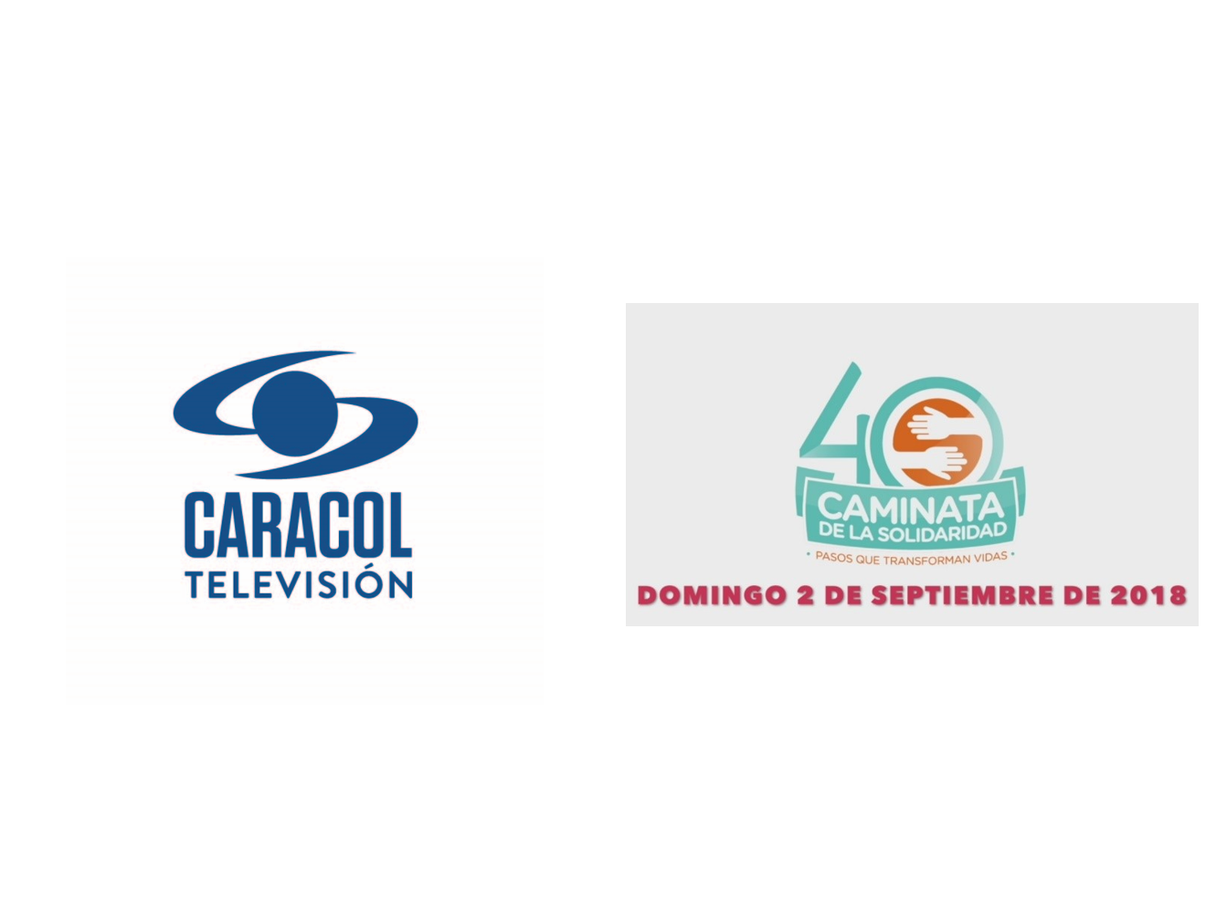 Caracol Televisión se una a la Caminata de la Solidaridad por Colombia 2018