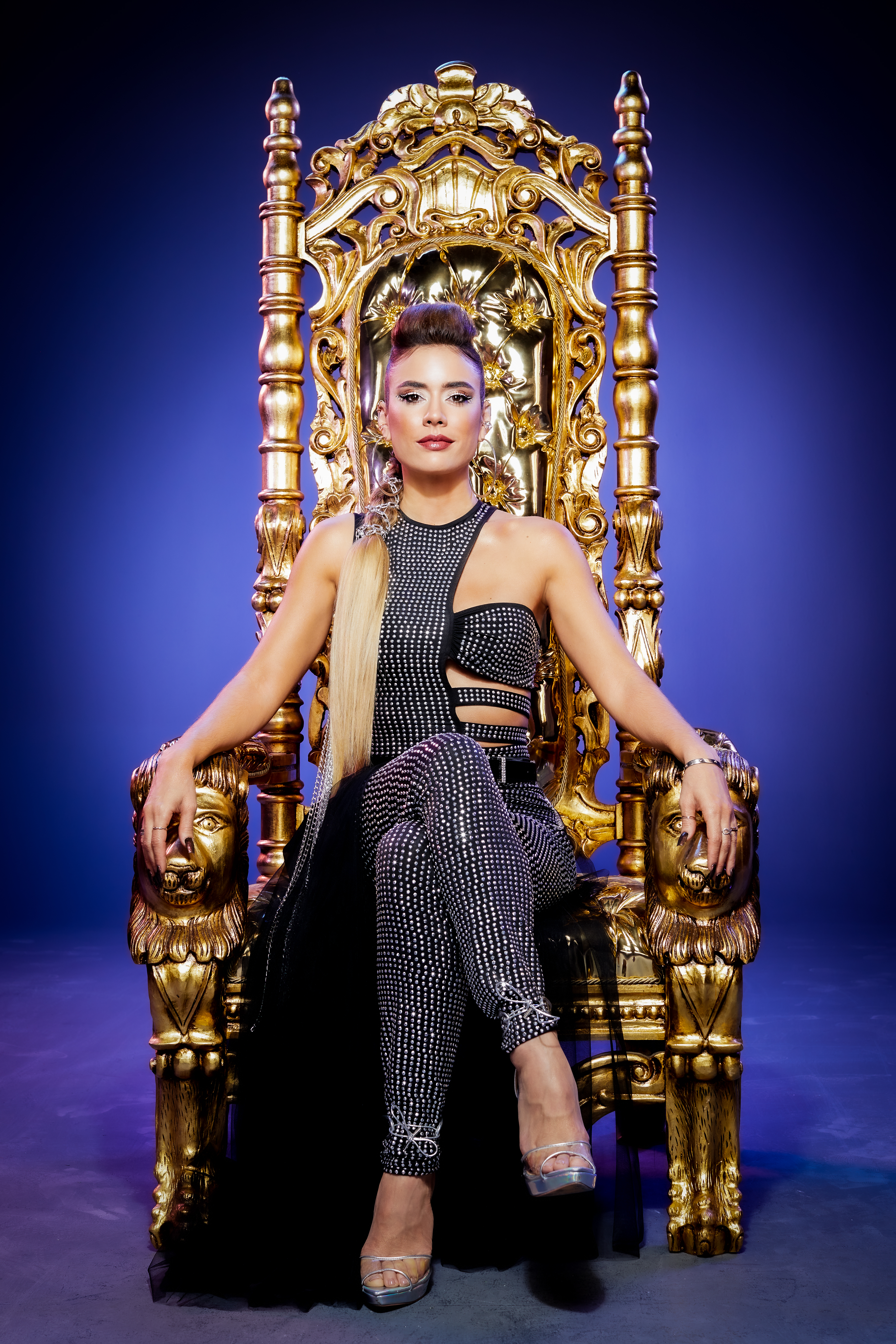 Enamorada de la música en 'La reina del flow 2'