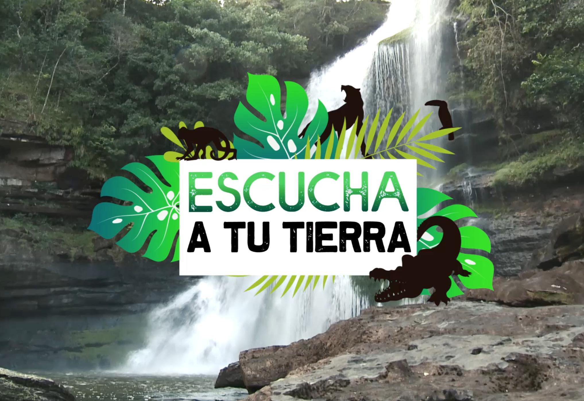 Caracol Televisión apoya la campaña 'Escucha a tu tierra', una inciativa para dar a conocer paisajes biodiversos y especies extraordinarias del país