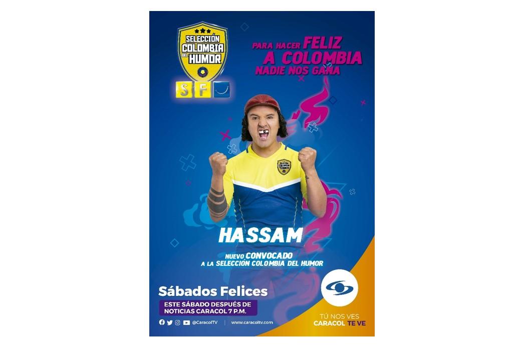 ¡El reconocido humorista Hassam regresa a Sábados Felices!