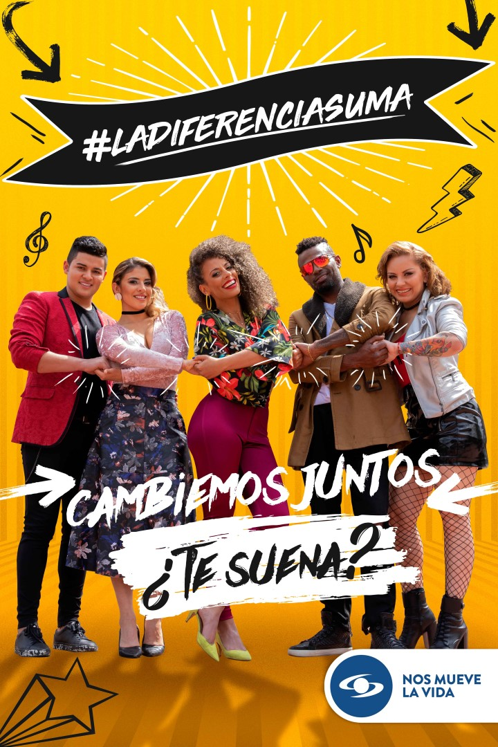 Caracol Televisión lanza su campaña #LaDiferenciaSuma