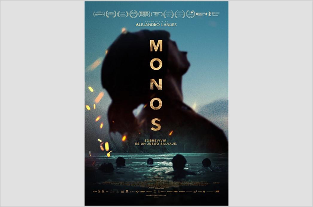 La película 'Monos' se estrena hoy en salas de cine del país