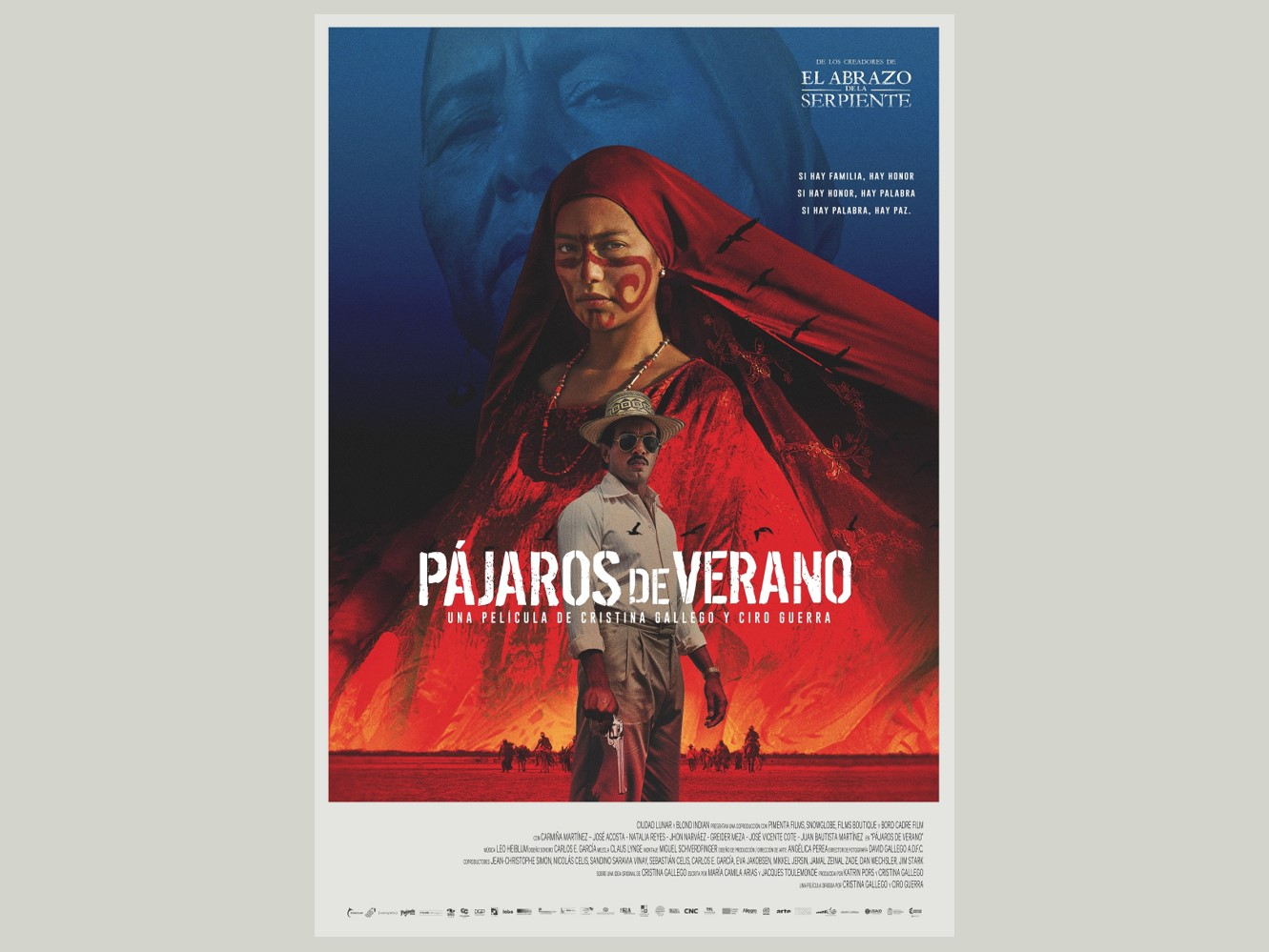 Pájaros de Verano, película apoyada por Caracol Televisión, llegó a cartelera