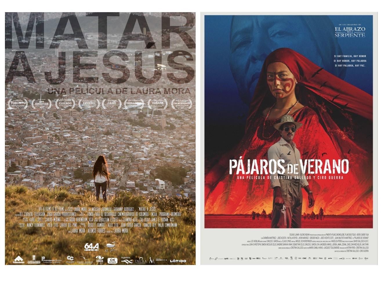 Películas apoyadas por Caracol Televisión representarán a Colombia en premios internacionales