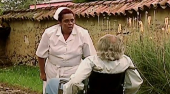 Una escena de 'Pasión de gavilanes' que causó risa en los televidentes