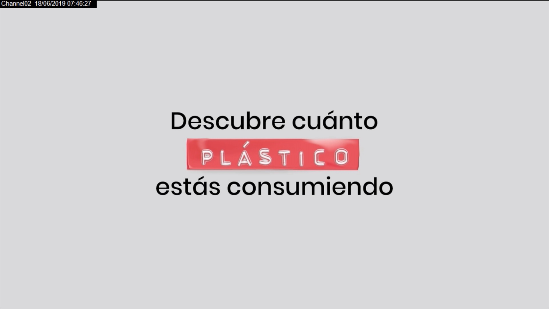 'Tu dieta plástica' llega a Colombia