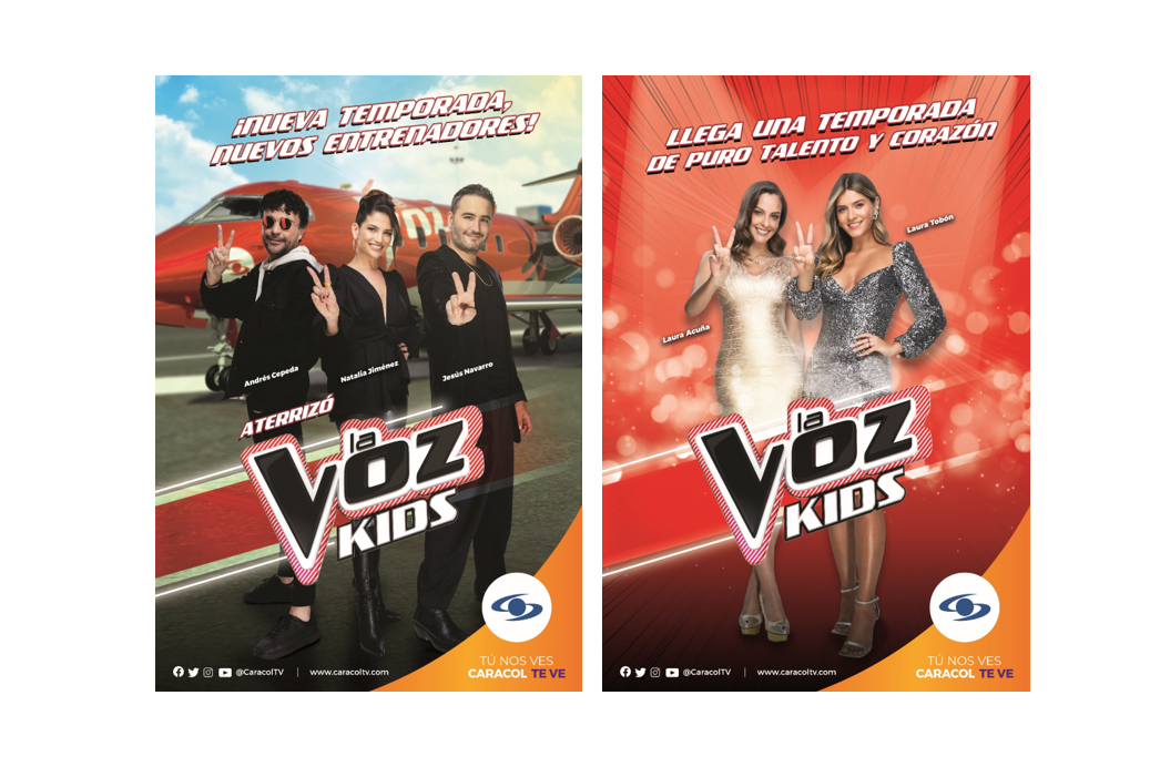 'La voz Kids': nueva temporada, nuevos entrenadores