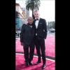 El actor indígena Antonio Bolívar y el actor estadounidense Brionne Davis fueron aplaudidos en su ingreso al Teatro Dolby