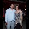 El Productor Ejecutivo Asier Aguilar con la actriz Patricia Ércole