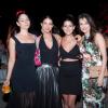 Gala Restrepo, Juanita Acosta, Valentina Acosta y Marcela Mar compartieron durante la fiesta.