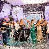 Los invitados no pararon de bailar y celebrar los 15 años que lleva al aire el programa.