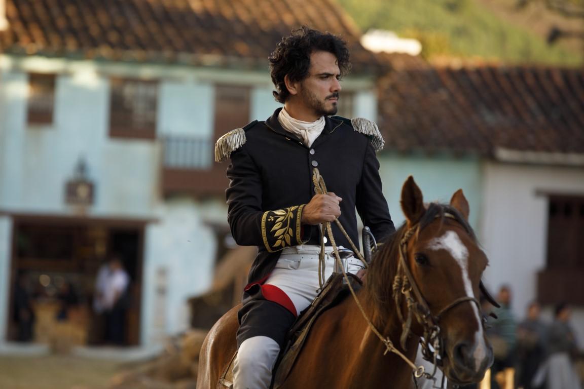 Los retos de Juan Fernando Sánchez en 'Bolívar: el hombre, el amante, el libertador'