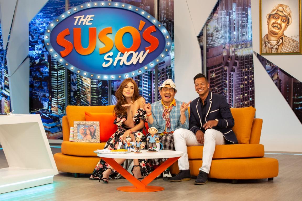 Una pareja muy unida en 'The Suso's show'