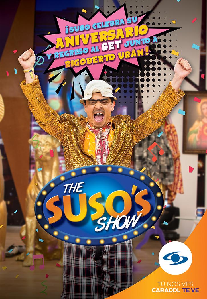 'The Suso's show' celebrará un año más al aire con regreso al set de grabación y con Rigoberto Urán como invitado